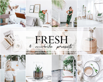 Fresh Mobile Lightroom Presets - Hyggely Presets and Branding