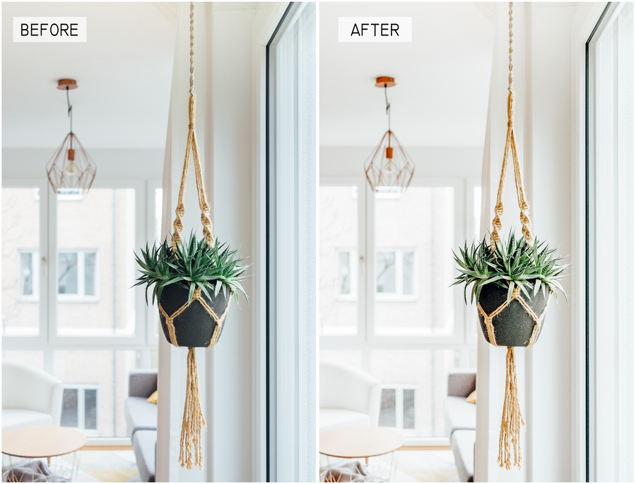 Interior Mobile Lightroom Presets - Hyggely Presets and Branding