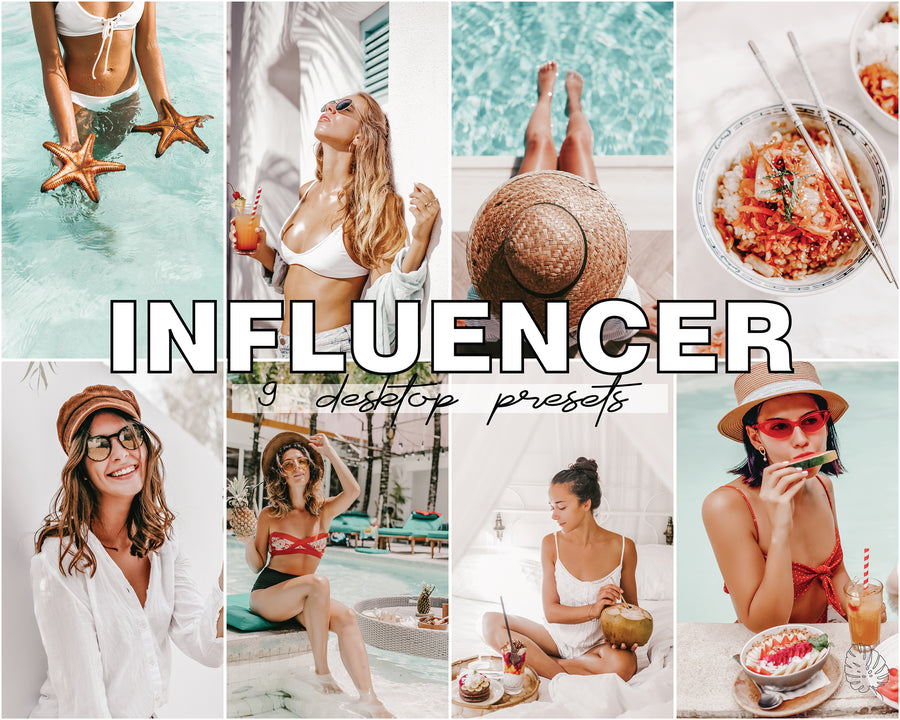 Influencer Desktop Lightroom Presets - Hyggely Presets and Branding