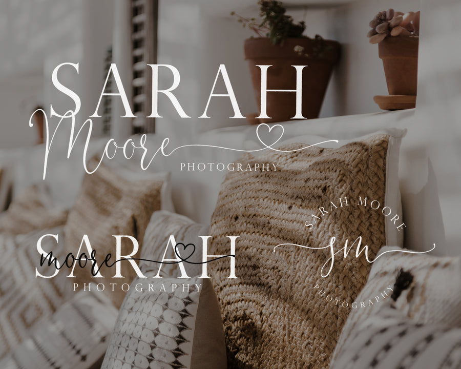 Sarah Moore Semi-Custom Brand Package - Hyggely Presets and Branding
