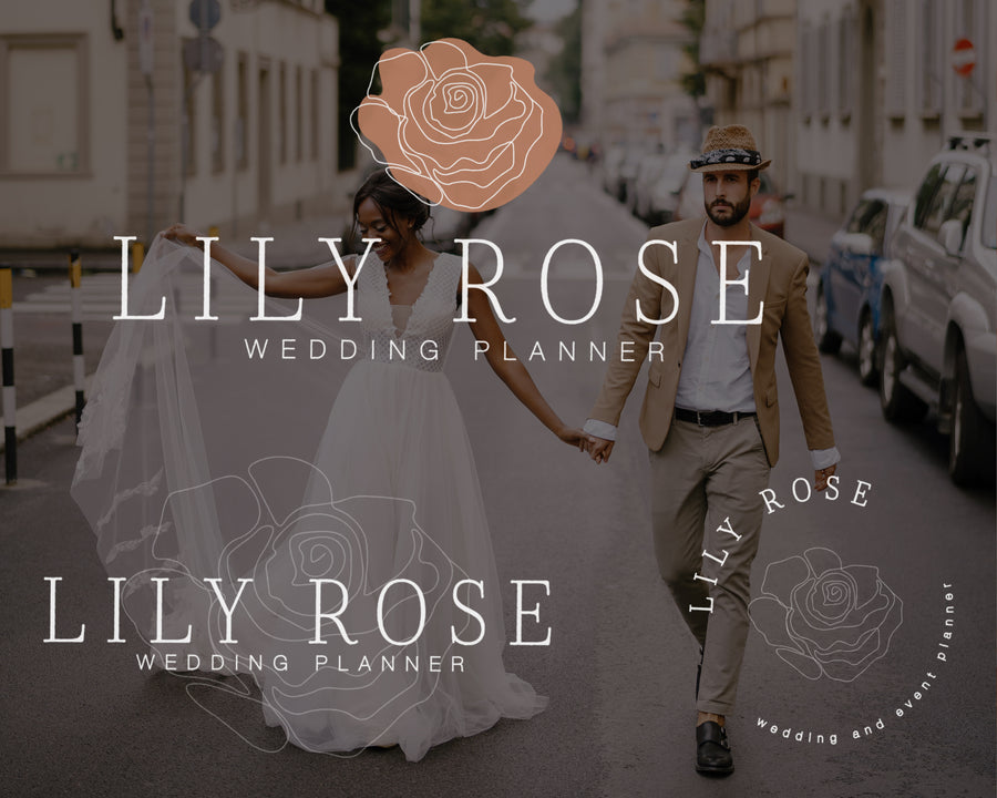 Lily Rose Semi-Custom Brand Package - Hyggely Presets and Branding