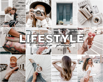 Lifestyle Desktop Lightroom Presets - Hyggely Presets and Branding