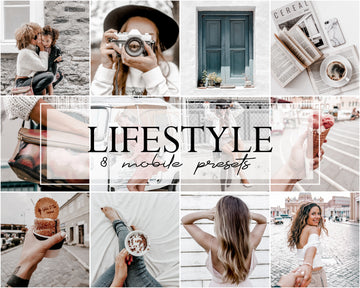 Lifestyle Mobile Lightroom Presets - Hyggely Presets and Branding