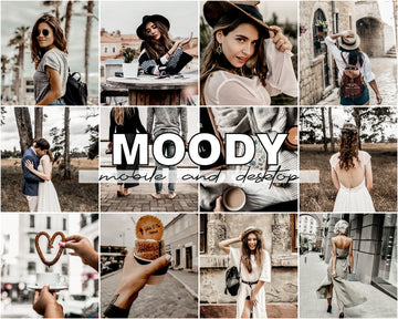 Moody Lightroom Presets - Hyggely Presets and Branding