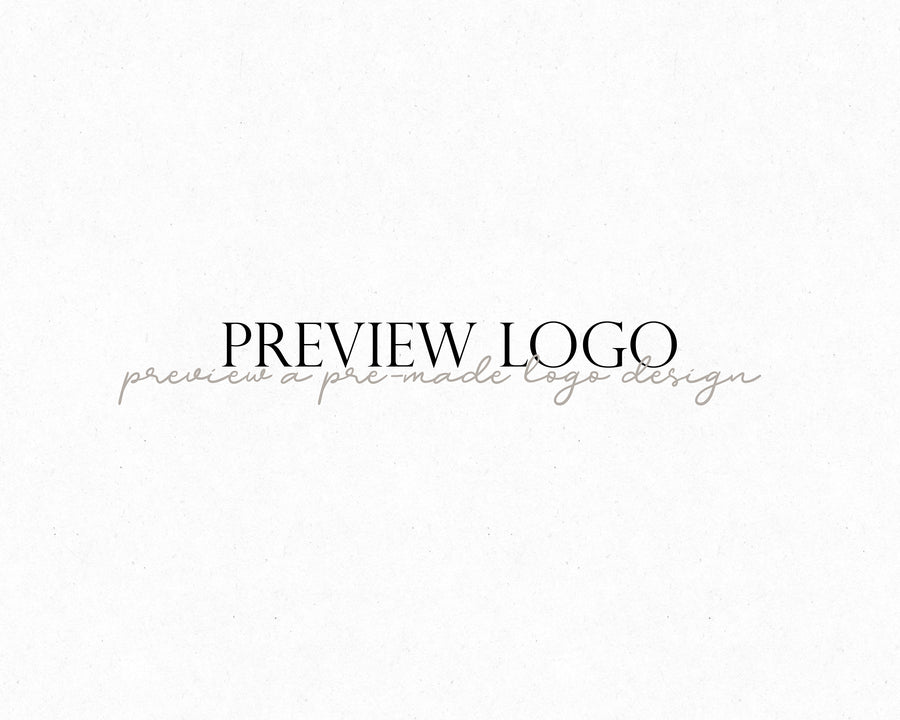 Preview Your Logo - Hyggely Presets and Branding