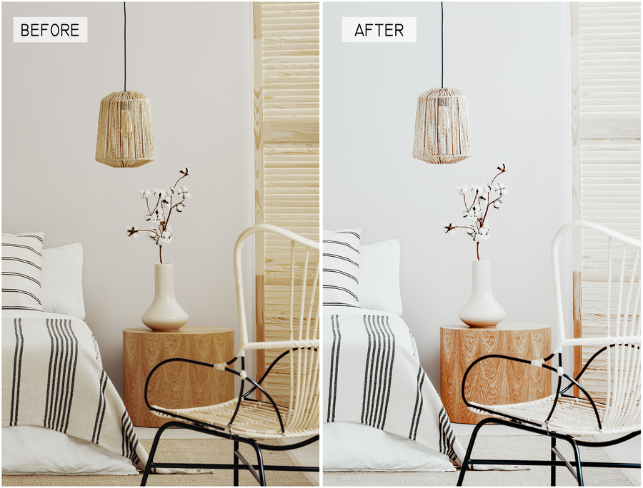 Bright and Airy Desktop Lightroom Presets - Hyggely Presets and Branding