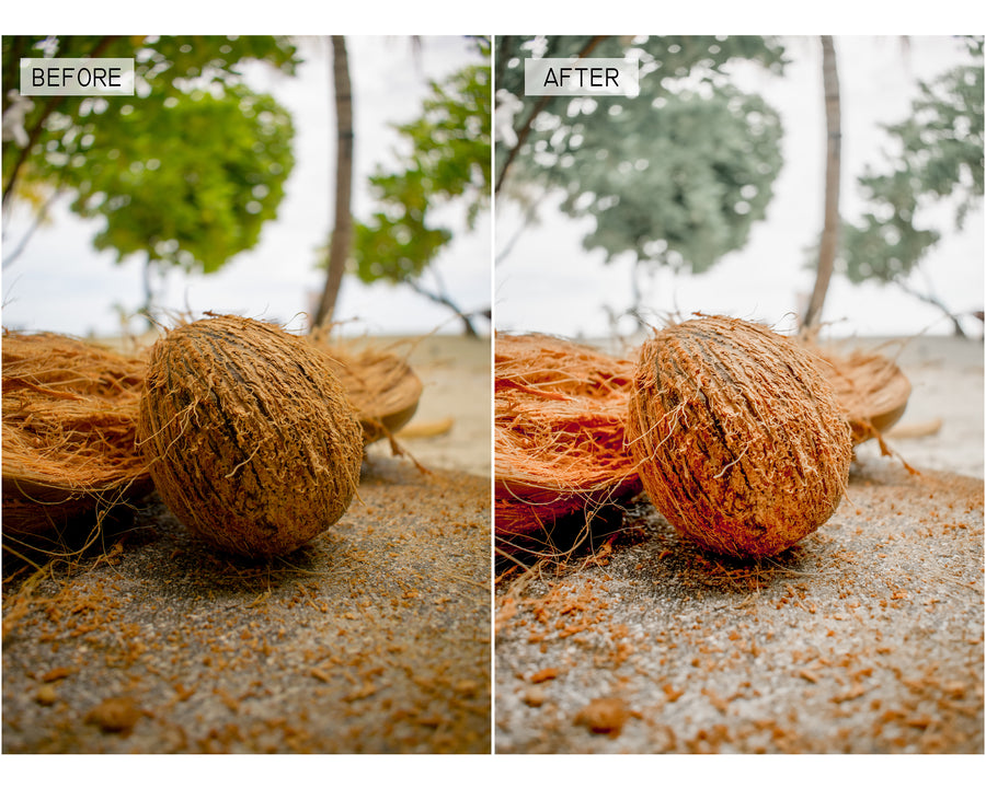 Tropical Mobile Lightroom Presets - Hyggely Presets and Branding