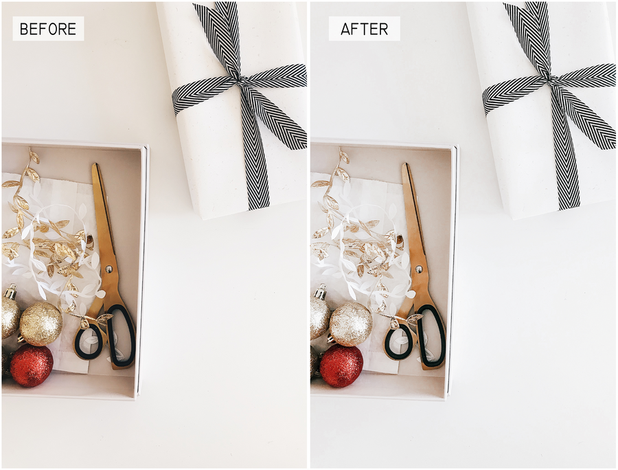 Christmas Mobile Lightroom Presets - Hyggely Presets and Branding