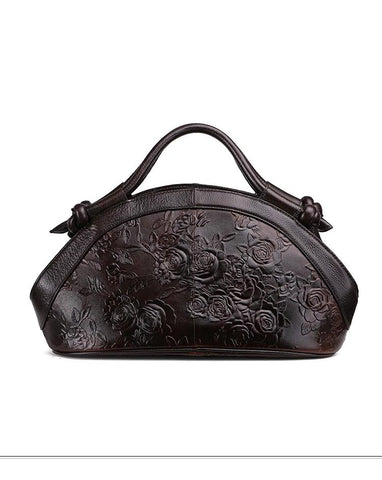 Women Vintage Leather Handbags (Fashion Embossed)