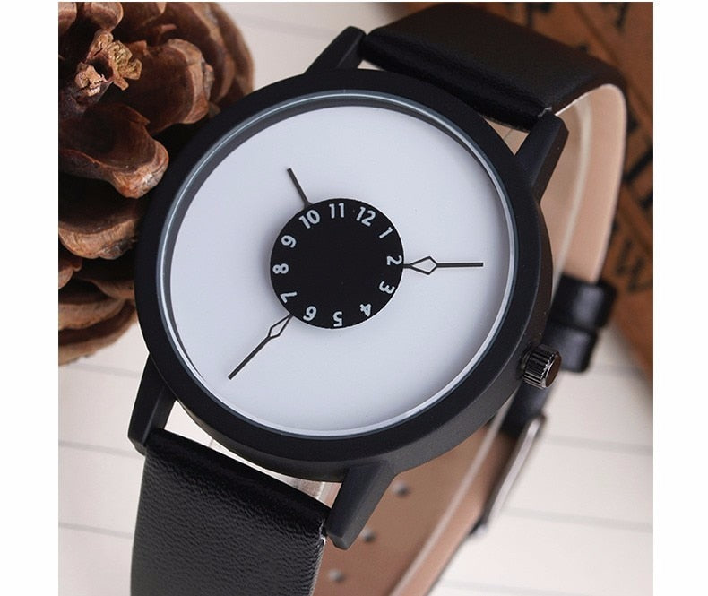 Quartz Watch - Leather Bands