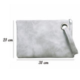 Women Clutch Leather Bags - Envelope Bags