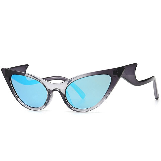 Women Vintage Cat Eye Sunglasses (Over-Size)