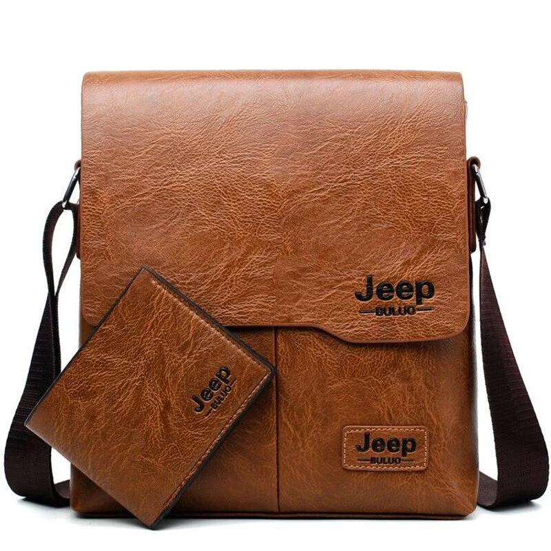 Men Leather Messenger Bags