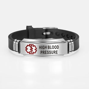 Medical Alert ID Bracelet - (For Men & Women)
