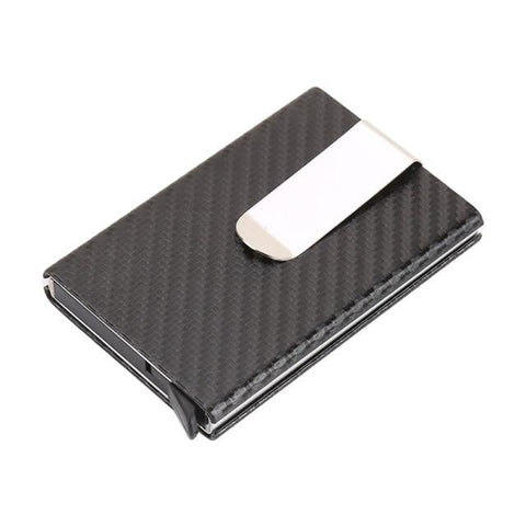Mini Wallet with Clip, Automatic Slide-Out Card Case - GreenLime Online Store