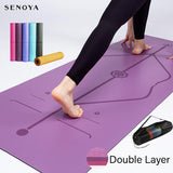 Yoga Double Layer Non-Slip Mat - GreenLime Online Store