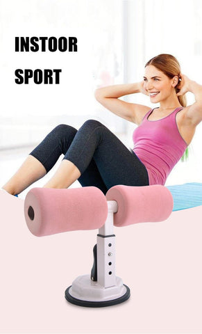 Portable Sit-ups Assistant Device Self-Suction Sit up Bar - GreenLime Online Store