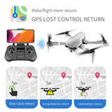 Drone with GPS, WiFi, Live-Video, Wide Angle HD Camera, Fold-able, Portable,and with Altitude Hold - GreenLime Online Store