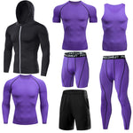 Men Compression Tight Fitness Leggings, Workout Training / Exercise Trousers