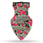 Face Scarf Bandana with Ear Loops, Unisex Face/Neck Shield Windproof