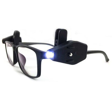 Mini LED Flashlight for Glasses