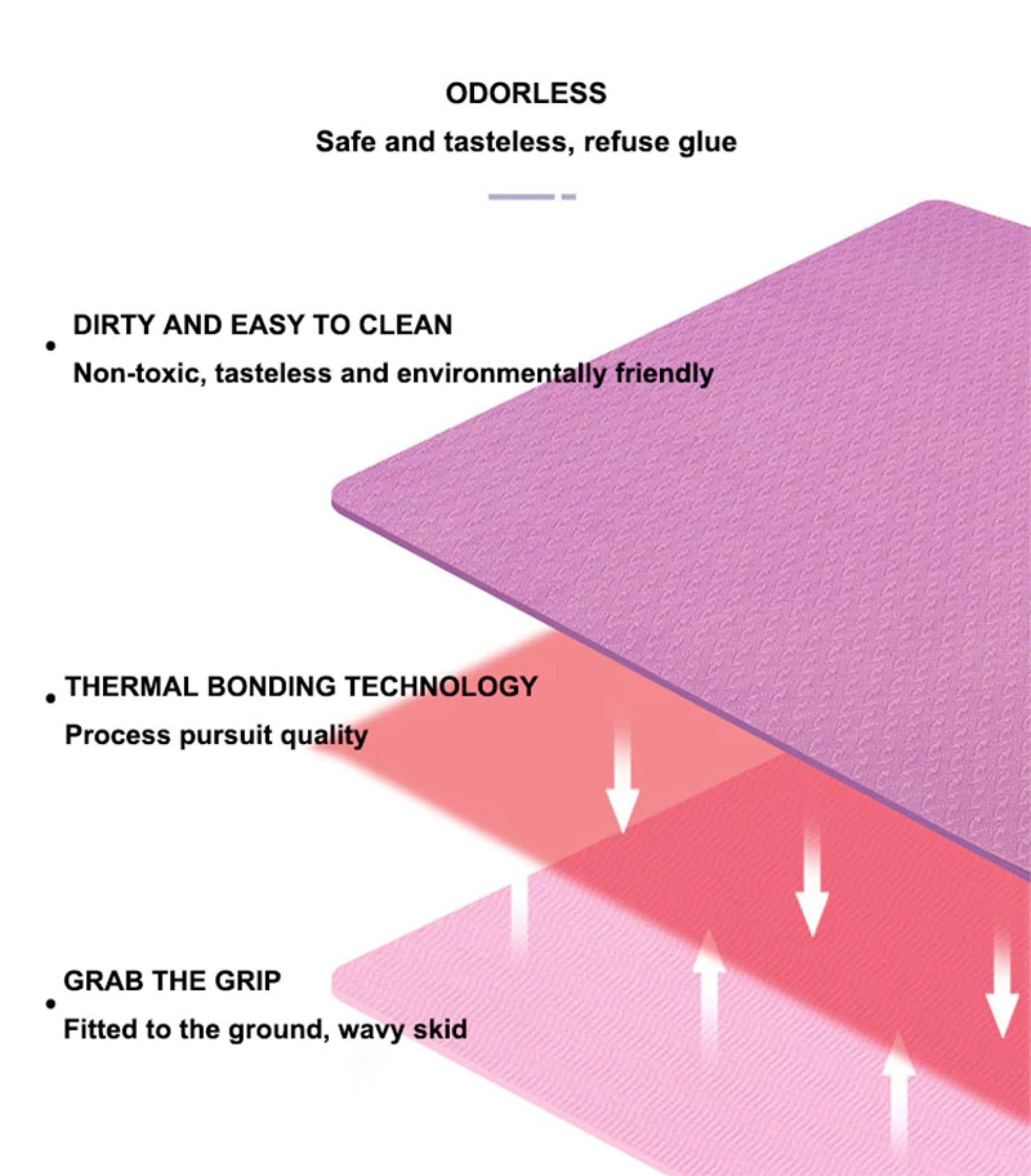 Yoga Double Layer Non-Slip Mat
