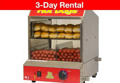 Commercial Hot Dog Steamer