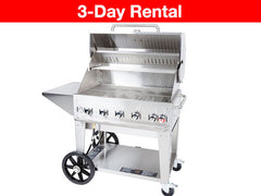 Medium - Crown Verity 3ft Commercial Propane BBQ 714 square inches