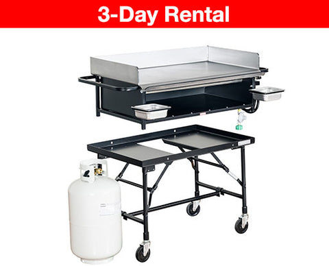Commercial Propane Griddle Rental