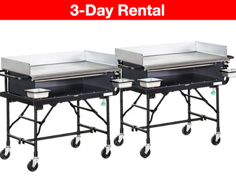 Package: 2 x Big Event Commercial Griddle