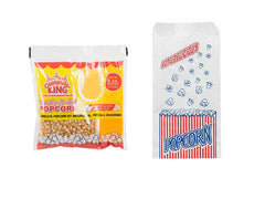 Popcorn kit 8oz with bags at Ottawa BBQ Rental