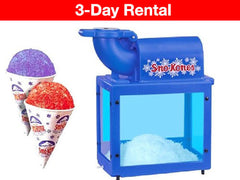 Sno-King snow cone machine for rent in Ottawa