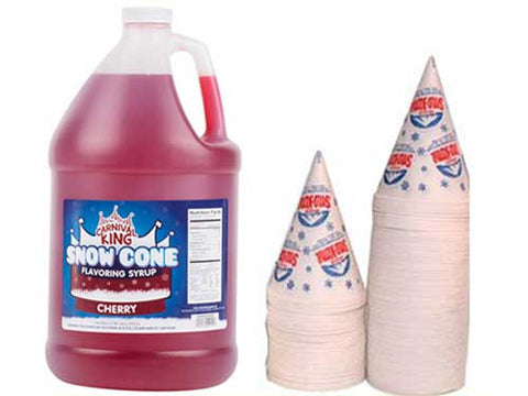 Sno-Cone Syrup Kit - 120 servings