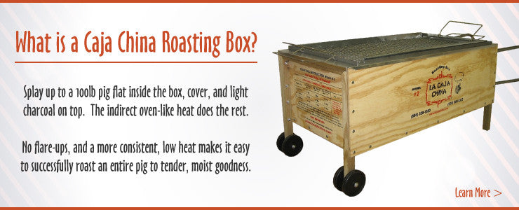 Caja China - Ottawa BBQ Rental