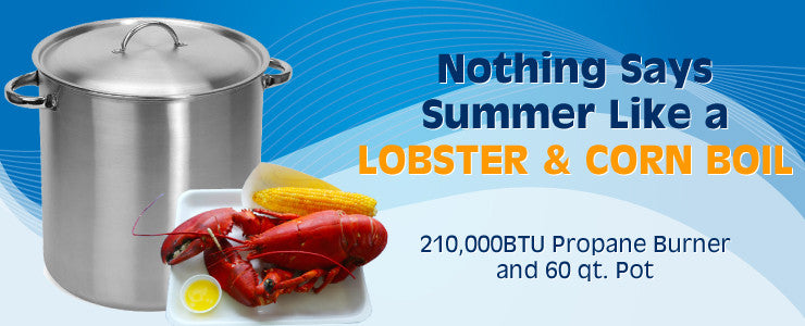 Lobster and Corn Boiler - Ottawa BBQ Rental