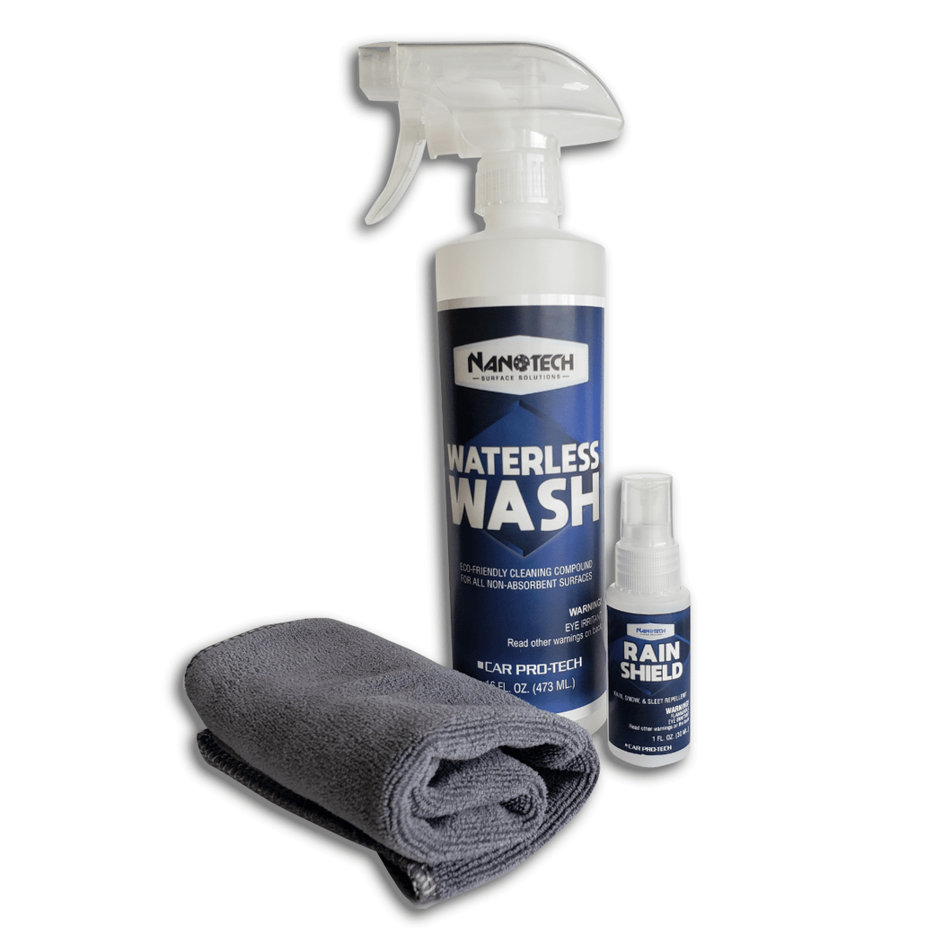 WASH & SHINE KIT (SINGLE)