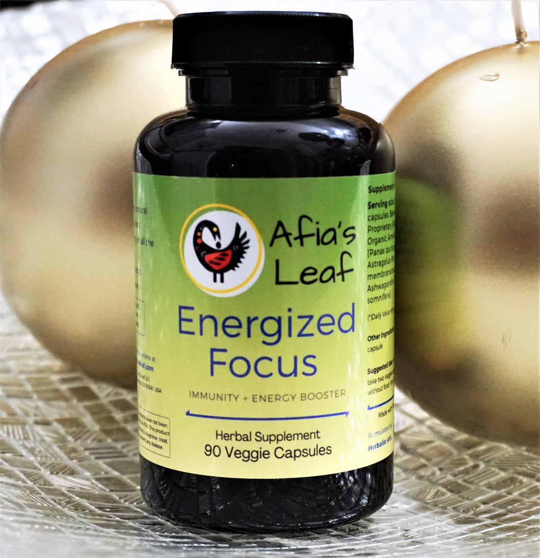 Energized Focus: Immunity and Energy Boost