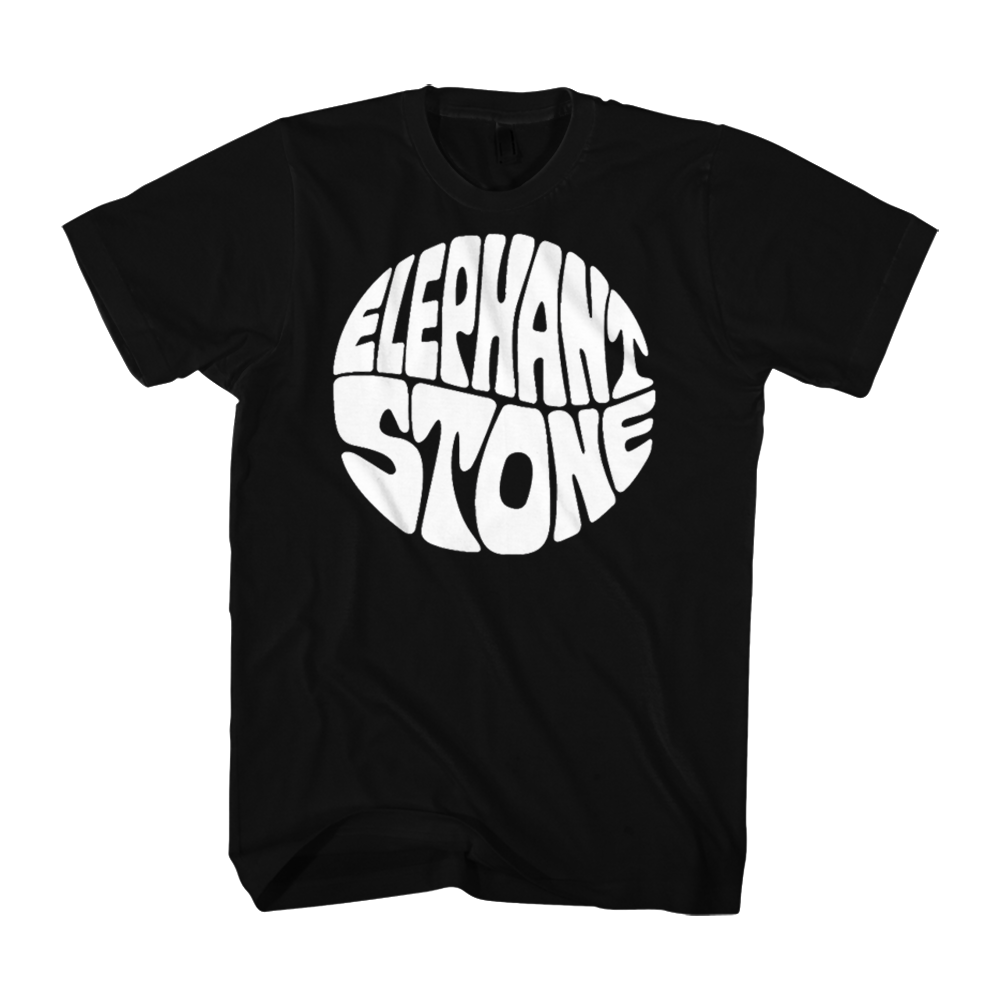Elephant Stone T-Shirt - Black