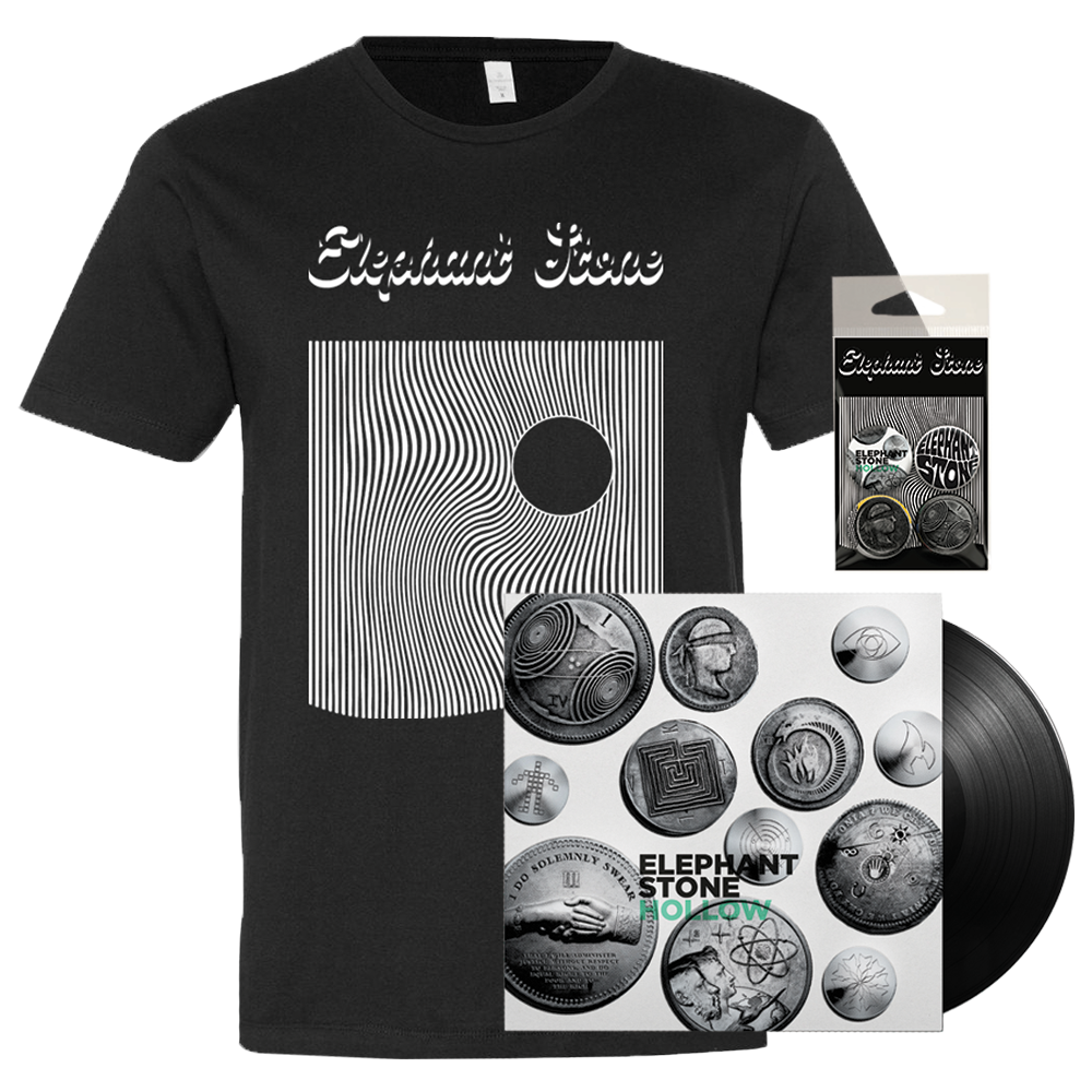 Hollow Black Vinyl Bundle - PRE-ORDER