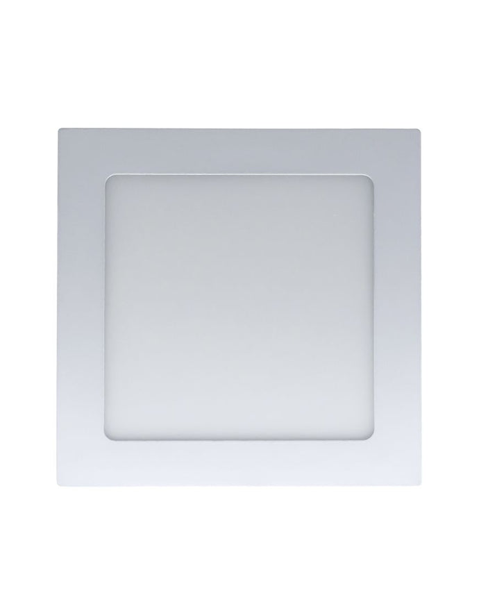 Panel cuadrado LED p/empotrar Ajustable (CUAD20/BC)