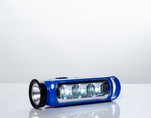 Linterna de 3 + 1 Led