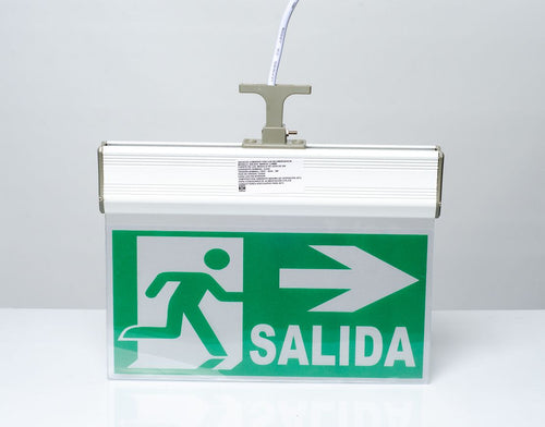 Anuncio de salida luminoso LED (ANLED2)