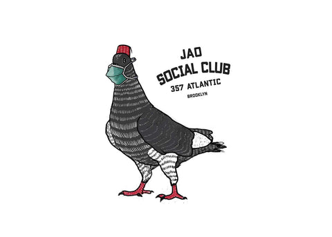Jao Social CLub Pigeon with mask