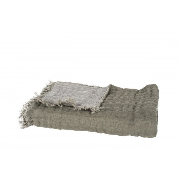 Stone Washed Linen Throw - Jao Social Club
