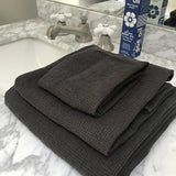 Linen Towel Set - Petrole - Jao Social Club