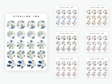 Load image into Gallery viewer, October Fall Stickers (2020) - Watercolor Icons