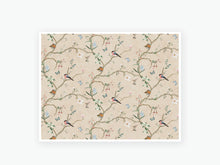 Load image into Gallery viewer, February Chinoiserie Floral Vellum - (Multicolor I)