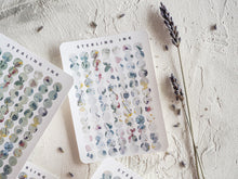 Load image into Gallery viewer, April Shower Floral Stickers - Dot Stickers