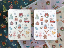 Load image into Gallery viewer, Nutcracker Holiday Stickers