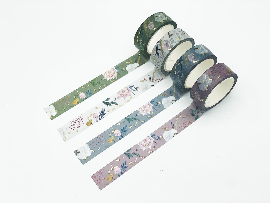 Fall Floral Washi Tapes